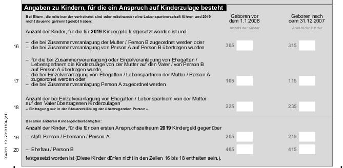 Riester Steuer Anlage AV